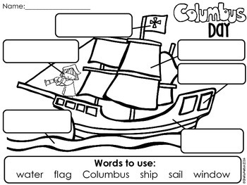 Columbus Day Worksheets For First Grade. Columbus. Best