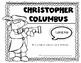 Columbus Day {Rebus Story} for Kindergarten and First