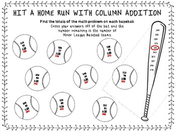 Column addition with regrouping by Mama Leader Coach and