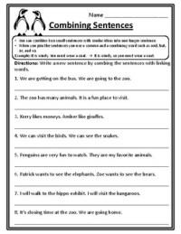 Combining Sentences Worksheet | www.pixshark.com - Images ...
