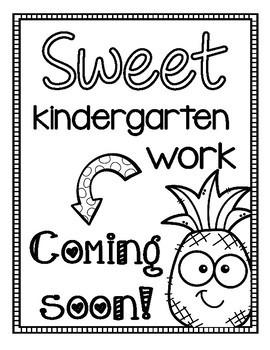 Coming Soon Bulletin Board Signs {Freebie!} by Enchanted
