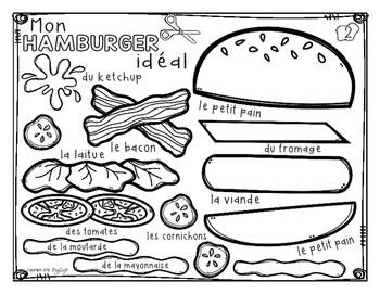 Comment faire un hamburger ☼ French Procedural Writing