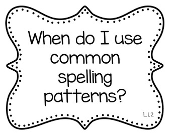 1st Grade RELA Bundle: EQs and I Can Statements {Common
