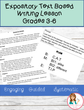 Common Core Explanatory Source Writing Video Lesson by