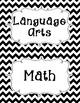 Common Core Fourth Grade I Can Statements-ELA & Math