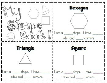 Geometry: Fun With Shapes! {First Grade} by Educating With
