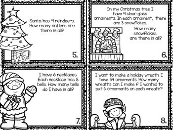 Common Core: Holiday Theme Multiplication and Division