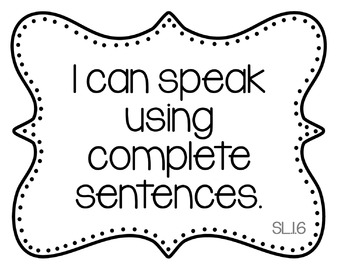 I Can Statements for 1st Grade Reading & ELA {Common Core