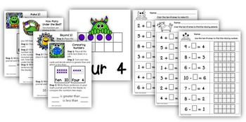 Common Core: Kindergarten Whole Number Operations by Math