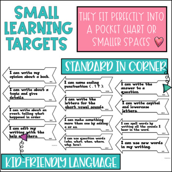 Common Core Learning Target and Success Criteria BUNDLE
