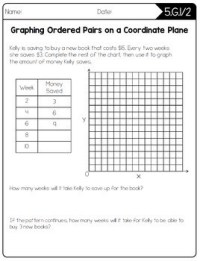 Common Core Math Worksheets - 5th Grade by Create Teach ...