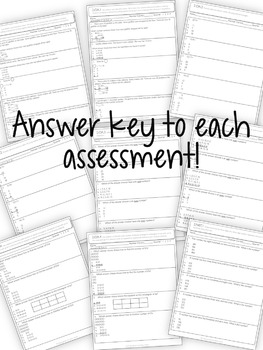 Second Grade Assessments Common Core Math and Language by