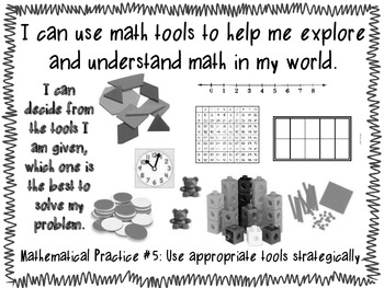 Common Core Mathematical Practices : Kid- Friendly by