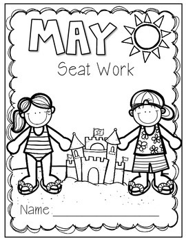 2nd Grade Common Core: May Morning Seat Work Packet by Mr