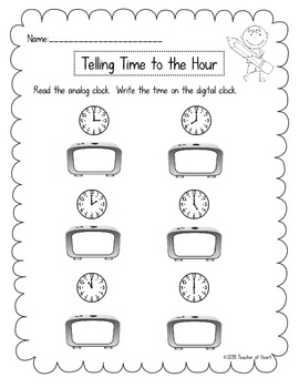 Common Core Mini Lessons and More: Time by Teacher at