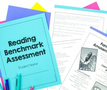 Common Core Reading Benchmark Assessment {4th & 5th Grade