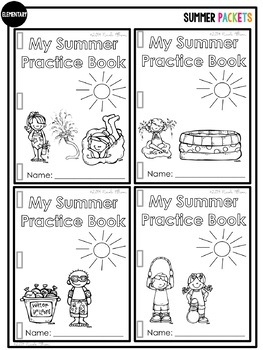 Common Core Summer Packets for Speech and Language by