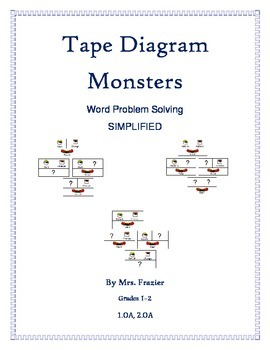 Common Core Tape Diagram Mo by Aan Frazier | Teachers