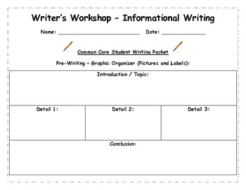 Common Core Writer S Workshop Informational Writing