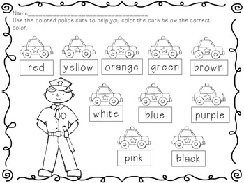 Community Helpers Literacy and Math Center Activities by I
