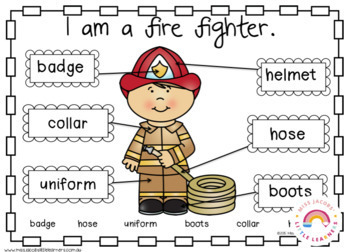 Community Helpers Thematic Unit by Miss Jacobs' Little