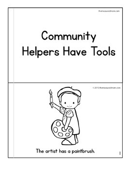 Community Helpers Theme for Preschool & Kindergarten by
