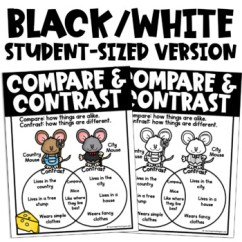 Blank Venn Diagram 2016 Ford Focus Stereo Wiring Compare And Contrast Poster (reading Anchor Chart) By Teaching In The Tongass