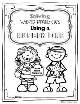 Word Problems BUNDLE Booklet {Base Ten, Number Line