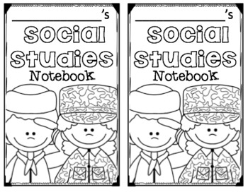 Composition Notebook Covers (Social Studies) by Love 4