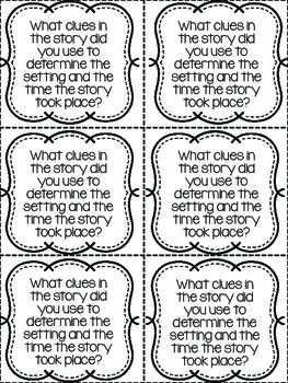Comprehension Exit Slips (for any book) by Christine