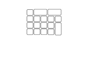 Computer Keyboard and Keypad * blank * by Ginger's Dollar