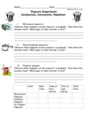 Conduction Convection Radiation Worksheets - Kidz Activities