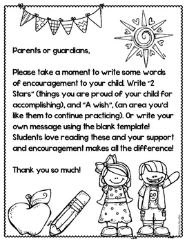 Parent Teacher Conferences Note to Child FREEBIE by