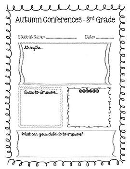 conference sheet blank editable