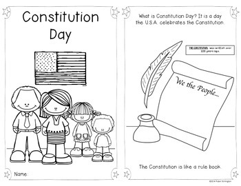 {Constitution Day} Reader f... by Class of Kinders