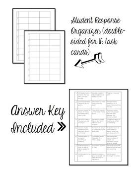 Context Clues Practice Task Cards Grade 5th 6th Social