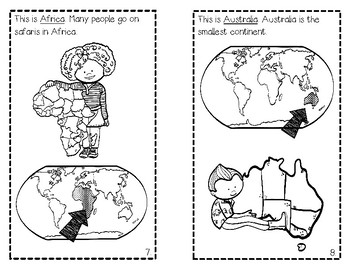 Continents and Oceans for Kids! by The Creative Coach