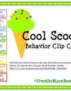 also cool scoops behavior clip chart by over the moonbow tpt rh teacherspayteachers