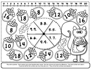 Cooperative Math Game Boards & Worksheets by Kitty Kitty