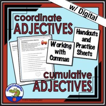 Coordinate Adjectives And Cumulative Adjectives Handout