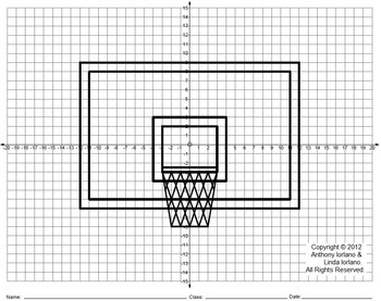 Basketball Backboard, March, Road to Winning, Coordinate