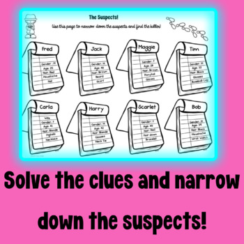 Coordinate Plane Murder Mystery Activity! by Math Down