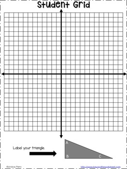 Coordinate Plane Transformations Activity by Lindsay Perro
