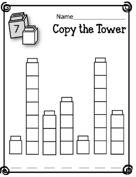 Copy the Tower. Patterns. Linking Cubes. Interlocking