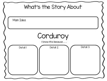 Corduroy ~ 52 pages of Common Core Activities by Fun to