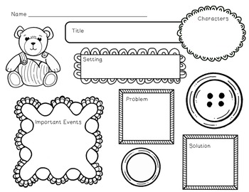 Corduroy Unit~ Includes Graphic Organizers & Much More! by