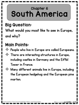 Core Knowledge History and Geography Vocabulary Cards: Let