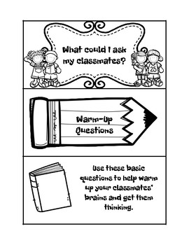 Costa's Question Stems for Kids by Thrilled to Be Teaching