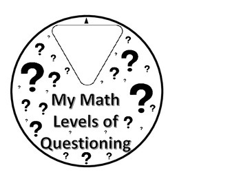 Costa's Levels of Questioning Wheel by Team Marlow Test