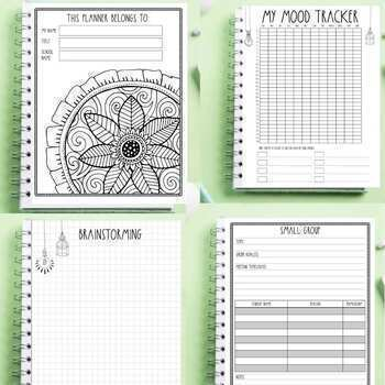 Counselor Planner 2018-2019 by The Counseling Teacher
